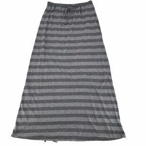 C&C California Striped Maxi Skirt M